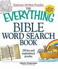 The Everything Bible Word Search Book : 150 Fun and Inspirational Puzzles by...