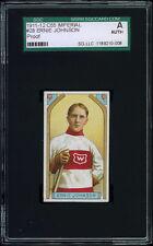"""1911-12 C55 Imperial Tobacco #28 Ernie """"Moose"""" Johnson PROOF SGC Authentic"""