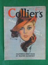COLLIER'S October 15, 1938 Cover Art by GUY HOFF Vol. 102, No. 16 IRWIN SHAW