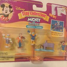Disney Mickey Mouse Daisy Duck Goofy Tiny Collection Doll Bluebird Polly Pocket