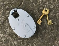 Securit 63mm 6 Lever Close Shackle Padlock - Armoured Double Plater Shutter Lock