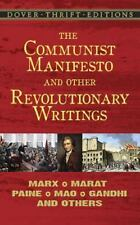 The Communist Manifesto and Other Revolutionary Writings: Marx, Marat,-ExLibrary
