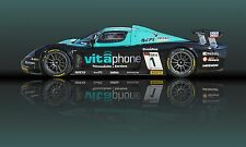 2004 Maserati MC12 GT1 V12 Sports Car Vintage Classic Race Car Photo CA-1014
