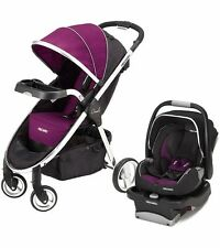 Recaro Denali Stroller and Performance Coupe Car Seat - Royal - Travel System