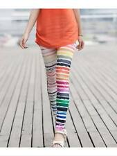 Snazzy's Multi Stripes Fashion Womens Stretchy leggings kids & Teens Funky Pants