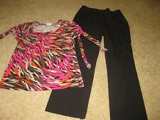 26pc Women's Fall Clothing Lot Size 8 Medium career/Casual Pants/Shirts/Jackets