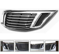 Genuine Chrome Front Hood Tuning Radiator Grill For 10 11 12 Kia Sorento R