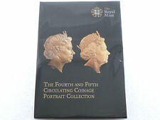 2015 Royal Mint Fifth Portrait First Editions Definitive BU 8 Coin Set Sealed