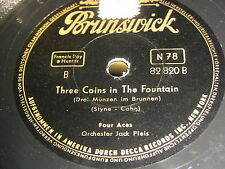 9/1R Kitty Kallen/ Four Aces - Little Things Mean A Lot - Three Coins In The Fou
