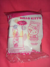 Brand New Mcdonald happy meal toy Hello Kitty Vocalist with sticker