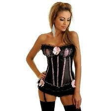 Daisy Pink Sequin Seduction Burlesque Corset