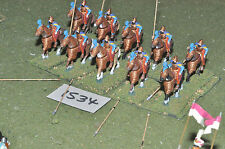 25mm parthian 10 heavy cavalry (1534) painted metal