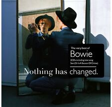 David Bowie - Nothing Has Changed:(2014) Greatest Hits/ Best Of NEW SEALED 2CD