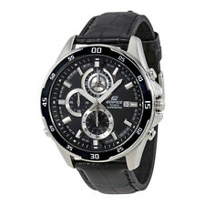 Casio Edifice Chronograph Black Dial Mens Watch EFR547L-1AV