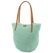 Volcom Women's Last Straw Tote Bag - SS16: Sea