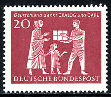 Germany 855, MNH. Mother and Child receiving gift parcel, 1963