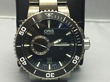 ORIS AQUIS TITAN SMALL SECOND, DATE 7664 7154-07 8 26 75PEB AUTOMATIC Watch 46mm