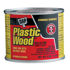 DAP Stainable White Plastic Wood Solvent Interior/Exterior Use Wood Filler