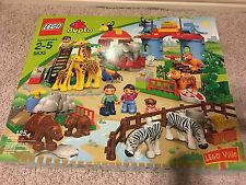 "Brand New Factory Sealed Lego Duplo Ville ""Big City Zoo"" 5635 New Large Set"