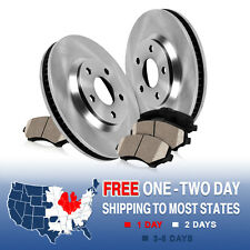Front Brake Rotors and Ceramic Pads PONTIAC VIBE SCION XD TOYOTA COROLLA MATRIX