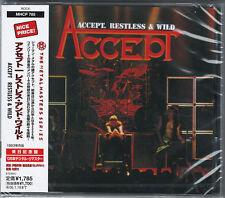 ACCEPT-RESTLESS & WILD-JAPAN CD D46