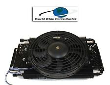 Hayden Remote Transmission Oil Cooler 525 With Fan Plate and Fin Type OC-525