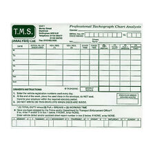 x200 Tachograph Paper Chart Envelopes,HGV/PCV,Also hold digital Tacho printouts!