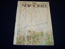 1964 APRIL 18 NEW YORKER MAGAZINE - BEAUTIFUL FRONT COVER FOR FRAMING- O 5010