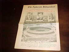 1965 The Anderson Independent Atlanta Braves Baseball Issue