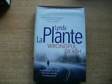 LYNDA LA PLANTE BOOK-WRONGFUL DEATH