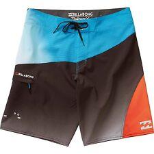 """Billabong Men Pulsar X Multi 20"""" Platinum X Boardshorts Swimwear Sz 32"""