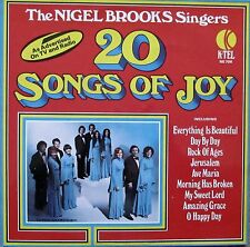 The Nigel Brooks Singers - 20 Songs of Joy (Vinyl, Ex.Cond., 1975, NE706)