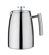 Grunwerg 8 Cup Belmont Double Wall Coffee Maker Steel Plunger Kitchen Cafetiere