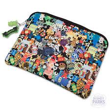 Disney Parks Vinylmation Laptop Sleeve Bag 13'' w/ JR Vinyl keychain