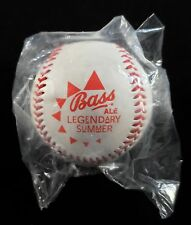 Bass Ale Beer Legendary Summer Rawlings Baseball - Factory-Sealed - REDUCED!