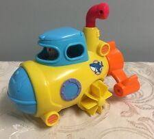 Happy Kid Toy Group 3-in-1 Bathtub Transport Submarine Hap P Toy Bath FUN Bright