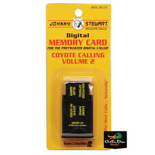 JOHNNY STEWART COYOTE CALLING VOLUME 2 PREYMASTER MEMORY CARD PM-3 & PM-4 MC-CY2