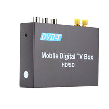 DVB-T mini Car Digital TV Box with 2 Antenna for high speed driving over 240Km/h