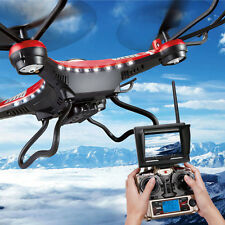 JRC H8D 6-Axis Gyro 4CH RC Quadcopter Drone 2.0MP HD Camera + FPV Monitor LED