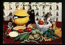Recipe postcard WW French Soupe au Pistou