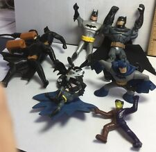 Batman Two-Face Toy PVC Action Figure Mixed Lot Figurines Dangles Cake Toppers