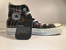 Converse - CT Grunge HI Chuck Taylor All Star, Sneaker Grey Plaid - 36 - NEU