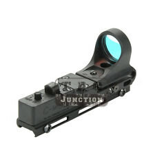 Tactical IPSC USPSA IDPA Railway Red Dot Sight for 20mm Picatinny Weaver Rail