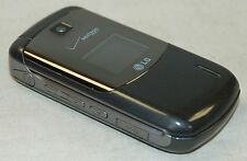 LG VX5600 Accolade GRAY Verizon Wireless Flip Keypad Cell Phone 1.3MP Camera -C-