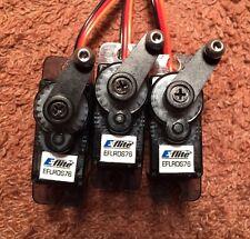 3 x E-flite Blade EFLRDS76 Digital Servos: 4503D 400 300X X Align EXI HK 250 SR