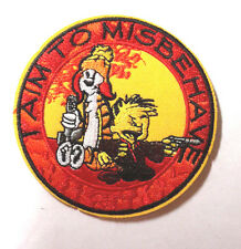 "SERENITY/FIREFLY ""I Aim to Misbehave"" Logo 3.5""  Patch- FREE S&H  (SEPA-007)"