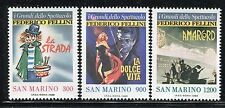 SAN MARINO 1988 FELLINI-FILMS POSTERS/MOVIE/CINEMA/AMARCORD/LA DOLCE VITA  MNH