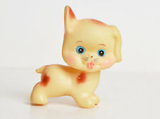 Vintage 60s Puppy Dog Squeaky Japanese Vinyl Figure Made in Japan