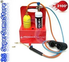 3S NEW PROVIDUS KHWGASEX PORTABLE WELDING & BRAZING KIT Gas & Oxygen Cylinders