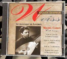 Silvius Leopold Weiss Le Manuscrit De Londres (The London Manuscript) Music CD